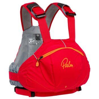 Chaleco Kayak Palm FX rojo