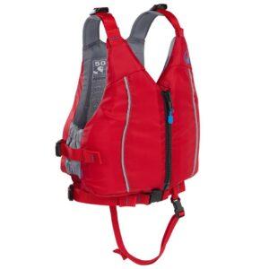 Chaleco Kayak Palm Quest Junior rojo