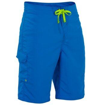 Pantalón Shorts Palm Skyline azul
